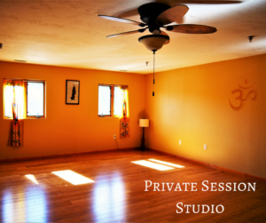 Private Session Studio, Central Mass Yoga