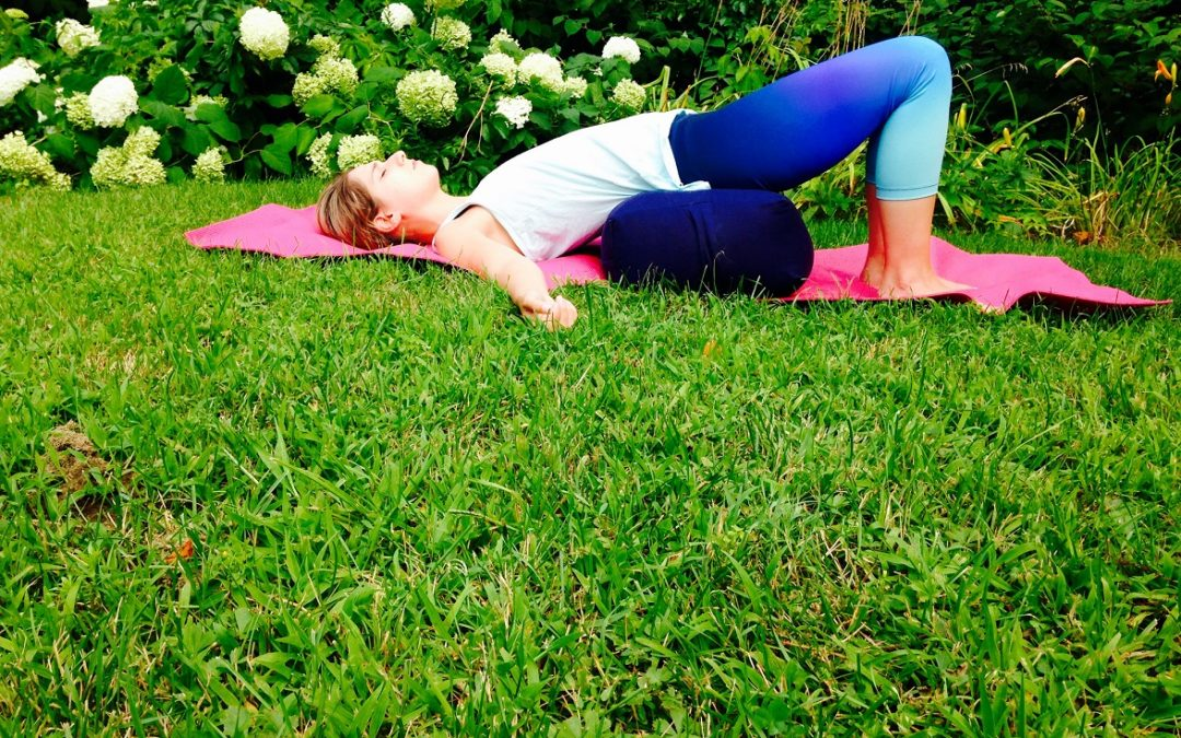 Restorative Bridge Pose