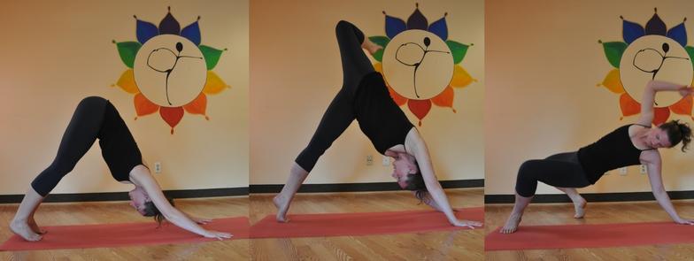 Yoga Pose Wild Thing