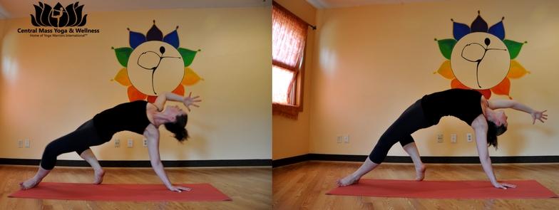 Yoga Pose - Wild thing