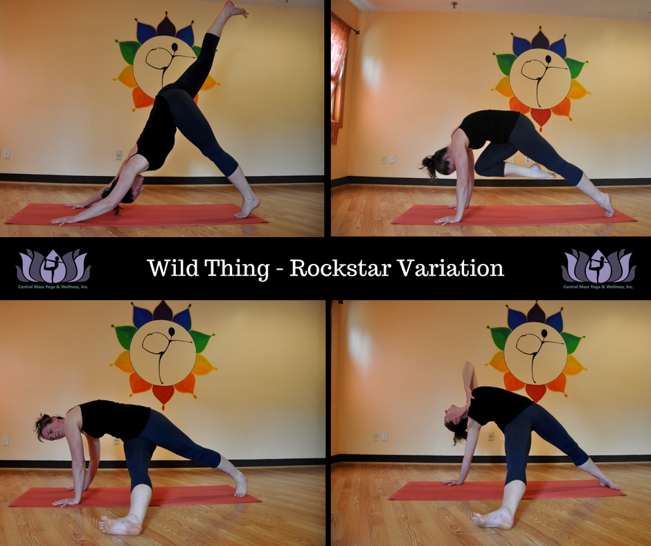 Yoga Pose - Wild Thing How To
